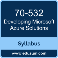 Developing Microsoft Azure Solutions PDF, 70-532 Dumps, 70-532 PDF, Developing Microsoft Azure Solutions VCE, 70-532 Questions PDF, Microsoft 70-532 VCE, Microsoft MCSA Cloud Platform Dumps, Microsoft MCSA Cloud Platform PDF