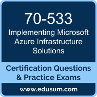 Implementing Microsoft Azure Infrastructure Solutions Dumps, Implementing Microsoft Azure Infrastructure Solutions PDF, 70-533 PDF, Implementing Microsoft Azure Infrastructure Solutions Braindumps, 70-533 Questions PDF, Microsoft 70-533 VCE, Microsoft MCSA Cloud Platform Dumps