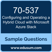 Configuring and Operating a Hybrid Cloud with Microsoft Azure Stack Dumps, 70-537 Dumps, 70-537 PDF, Configuring and Operating a Hybrid Cloud with Microsoft Azure Stack VCE, Microsoft 70-537 VCE, Microsoft MCSE Core Infrastructure PDF
