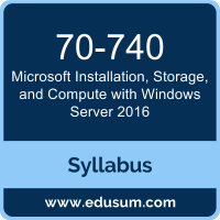 Installation, Storage, and Compute with Windows Server 2016 PDF, 70-740 Dumps, 70-740 PDF, Installation, Storage, and Compute with Windows Server 2016 VCE, 70-740 Questions PDF, Microsoft 70-740 VCE, Microsoft MCSA Windows Server 2016 Dumps, Microsoft MCSA Windows Server 2016 PDF