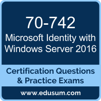 Identity with Windows Server 2016 Dumps, Identity with Windows Server 2016 PDF, 70-742 PDF, Identity with Windows Server 2016 Braindumps, 70-742 Questions PDF, Microsoft 70-742 VCE, Microsoft MCSA Windows Server 2016 Dumps