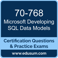 Developing SQL Data Models Dumps, Developing SQL Data Models PDF, 70-768 PDF, Developing SQL Data Models Braindumps, 70-768 Questions PDF, Microsoft 70-768 VCE, Microsoft MCSA SQL 2016 BI Development Dumps