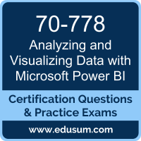 Analyzing and Visualizing Data with Microsoft Power BI Dumps, Analyzing and Visualizing Data with Microsoft Power BI PDF, 70-778 PDF, Analyzing and Visualizing Data with Microsoft Power BI Braindumps, 70-778 Questions PDF, Microsoft 70-778 VCE