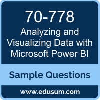 Analyzing and Visualizing Data with Microsoft Power BI Dumps, 70-778 Dumps, 70-778 PDF, Analyzing and Visualizing Data with Microsoft Power BI VCE, Microsoft 70-778 VCE, Microsoft MCSA BI Reporting PDF