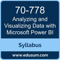 Analyzing and Visualizing Data with Microsoft Power BI PDF, 70-778 Dumps, 70-778 PDF, Analyzing and Visualizing Data with Microsoft Power BI VCE, 70-778 Questions PDF, Microsoft 70-778 VCE, Microsoft MCSA BI Reporting Dumps, Microsoft MCSA BI Reporting PDF