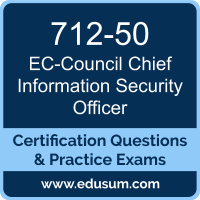 CCISO Dumps, CCISO PDF, 712-50 PDF, CCISO Braindumps, 712-50 Questions PDF, EC-Council 712-50 VCE