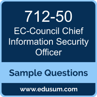 CCISO Dumps, 712-50 Dumps, 712-50 PDF, CCISO VCE, EC-Council 712-50 VCE, CISO, CISO Certification Sample Questions, EC-Council CISO Certification