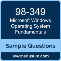 Windows Operating System Fundamentals Dumps, 98-349 Dumps, 98-349 PDF, Windows Operating System Fundamentals VCE, Microsoft 98-349 VCE