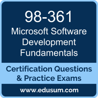 Software Development Fundamentals  Dumps, Software Development Fundamentals  PDF, 98-361 PDF, Software Development Fundamentals  Braindumps, 98-361 Questions PDF, Microsoft 98-361 VCE, Microsoft MTA Cloud Fundamentals Dumps