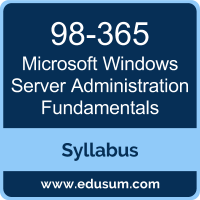 Windows Server Administration Fundamentals PDF, 98-365 Dumps, 98-365 PDF, Windows Server Administration Fundamentals VCE, 98-365 Questions PDF, Microsoft 98-365 VCE, Microsoft MTA Windows Server Dumps, Microsoft MTA Windows Server PDF