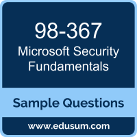 Security Fundamentals Dumps, 98-367 Dumps, 98-367 PDF, Security Fundamentals VCE, Microsoft 98-367 VCE, Microsoft MTA Windows Server Administration Fundamentals PDF