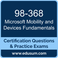 Mobility and Devices Fundamentals Dumps, Mobility and Devices Fundamentals PDF, 98-368 PDF, Mobility and Devices Fundamentals Braindumps, 98-368 Questions PDF, Microsoft 98-368 VCE