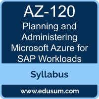 Planning and Administering Microsoft Azure for SAP Workloads PDF, AZ-120 Dumps, AZ-120 PDF, Planning and Administering Microsoft Azure for SAP Workloads VCE, AZ-120 Questions PDF, Microsoft AZ-120 VCE, Microsoft Planning and Administering Microsoft Azure for SAP Workloads Dumps, Microsoft Planning and Administering Microsoft Azure for SAP Workloads PDF