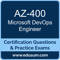 DevOps Engineer Dumps, DevOps Engineer PDF, AZ-400 PDF, DevOps Engineer Braindumps, AZ-400 Questions PDF, Microsoft AZ-400 VCE, Microsoft MCE DevOps Engineer Dumps