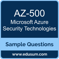 Azure Security Technologies Dumps, AZ-500 Dumps, AZ-500 PDF, Azure Security Technologies VCE, Microsoft AZ-500 VCE, Microsoft MCA Azure Security Engineer PDF