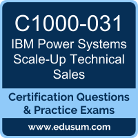 Power Systems Scale-Up Technical Sales Dumps, Power Systems Scale-Up Technical Sales PDF, C1000-031 PDF, Power Systems Scale-Up Technical Sales Braindumps, C1000-031 Questions PDF, IBM C1000-031 VCE