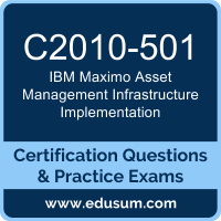 Maximo Asset Management Infrastructure Implementation Dumps, Maximo Asset Management Infrastructure Implementation PDF, C2010-501 PDF, Maximo Asset Management Infrastructure Implementation Braindumps, C2010-501 Questions PDF, IBM C2010-501 VCE