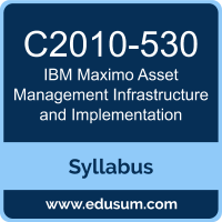 Maximo Asset Management Infrastructure and Implementation PDF, C2010-530 Dumps, C2010-530 PDF, Maximo Asset Management Infrastructure and Implementation VCE, C2010-530 Questions PDF, IBM C2010-530 VCE