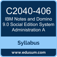 Notes and Domino 9.0 Social Edition System Administration A PDF, C2040-406 Dumps, C2040-406 PDF, Notes and Domino 9.0 Social Edition System Administration A VCE, C2040-406 Questions PDF, IBM C2040-406 VCE