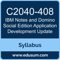 Notes and Domino Social Edition Application Development Update PDF, C2040-408 Dumps, C2040-408 PDF, Notes and Domino Social Edition Application Development Update VCE, C2040-408 Questions PDF, IBM C2040-408 VCE