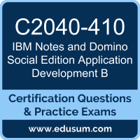 Notes and Domino Social Edition Application Development B Dumps, Notes and Domino Social Edition Application Development B PDF, C2040-410 PDF, Notes and Domino Social Edition Application Development B Braindumps, C2040-410 Questions PDF, IBM C2040-410 VCE
