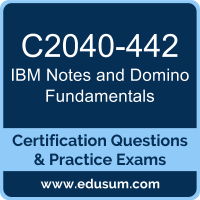 Notes and Domino Fundamentals Dumps, Notes and Domino Fundamentals PDF, C2040-442 PDF, Notes and Domino Fundamentals Braindumps, C2040-442 Questions PDF, IBM C2040-442 VCE
