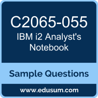 i2 Analyst's Notebook Dumps, C2065-055 Dumps, C2065-055 PDF, i2 Analyst's Notebook VCE, IBM C2065-055 VCE