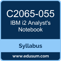i2 Analyst's Notebook PDF, C2065-055 Dumps, C2065-055 PDF, i2 Analyst's Notebook VCE, C2065-055 Questions PDF, IBM C2065-055 VCE