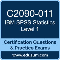 SPSS Statistics Level 1 Dumps, SPSS Statistics Level 1 PDF, C2090-011 PDF, SPSS Statistics Level 1 Braindumps, C2090-011 Questions PDF, IBM C2090-011 VCE