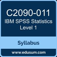 SPSS Statistics Level 1 PDF, C2090-011 Dumps, C2090-011 PDF, SPSS Statistics Level 1 VCE, C2090-011 Questions PDF, IBM C2090-011 VCE