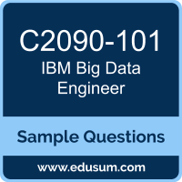 Big Data Engineer Dumps, C2090-101 Dumps, C2090-101 PDF, Big Data Engineer VCE, IBM C2090-101 VCE
