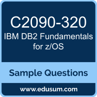 DB2 Fundamentals for z/OS Dumps, C2090-320 Dumps, C2090-320 PDF, DB2 Fundamentals for z/OS VCE, IBM C2090-320 VCE