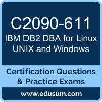 DB2 DBA for Linux UNIX and Windows Dumps, DB2 DBA for Linux UNIX and Windows PDF, C2090-611 PDF, DB2 DBA for Linux UNIX and Windows Braindumps, C2090-611 Questions PDF, IBM C2090-611 VCE