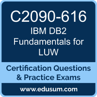 DB2 Fundamentals for LUW Dumps, DB2 Fundamentals for LUW PDF, C2090-616 PDF, DB2 Fundamentals for LUW Braindumps, C2090-616 Questions PDF, IBM C2090-616 VCE, IBM DB2 Fundamentals for LUW Dumps