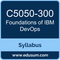 Foundations of IBM DevOps PDF, C5050-300 Dumps, C5050-300 PDF, Foundations of IBM DevOps VCE, C5050-300 Questions PDF, IBM C5050-300 VCE