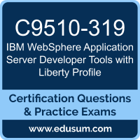 WebSphere Application Server Developer Tools with Liberty Profile Dumps, WebSphere Application Server Developer Tools with Liberty Profile PDF, C9510-319 PDF, WebSphere Application Server Developer Tools with Liberty Profile Braindumps, C9510-319 Questions PDF, IBM C9510-319 VCE