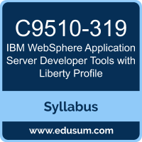 WebSphere Application Server Developer Tools with Liberty Profile PDF, C9510-319 Dumps, C9510-319 PDF, WebSphere Application Server Developer Tools with Liberty Profile VCE, C9510-319 Questions PDF, IBM C9510-319 VCE