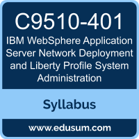 WebSphere Application Server Network Deployment and Liberty Profile System Administration PDF, C9510-401 Dumps, C9510-401 PDF, WebSphere Application Server Network Deployment and Liberty Profile System Administration VCE, C9510-401 Questions PDF, IBM C9510-401 VCE