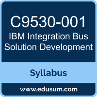 Integration Bus Solution Development PDF, C9530-001 Dumps, C9530-001 PDF, Integration Bus Solution Development VCE, C9530-001 Questions PDF, IBM C9530-001 VCE