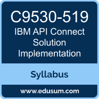API Connect Solution Implementation PDF, C9530-519 Dumps, C9530-519 PDF, API Connect Solution Implementation VCE, C9530-519 Questions PDF, IBM C9530-519 VCE