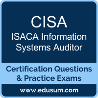 CISA Dumps, CISA PDF, CISA Braindumps, ISACA CISA Questions PDF, ISACA CISA VCE, ISACA Information Systems Auditor Dumps