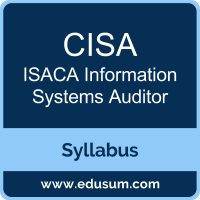 CISA PDF, CISA Dumps, CISA VCE, Information Systems Auditor Questions PDF, ISACA Information Systems Auditor VCE