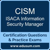 CISM Dumps, CISM PDF, CISM Braindumps, ISACA CISM Questions PDF, ISACA CISM VCE, , ISACA Information Security Manager Dumps