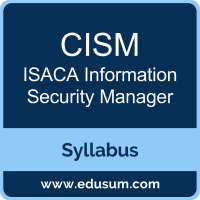 CISM PDF, CISM Dumps, CISM VCE, ISACA Information Security Manager Questions PDF, ISACA Information Security Manager VCE, , ISACA Information Security Manager Dumps, ISACA Information Security Manager PDF