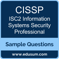 CISSP Dumps, CISSP PDF, CISSP VCE, ISC2 Information Systems Security Professional VCE