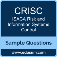 CRISC Dumps, CRISC PDF, CRISC VCE, ISACA Risk and Information Systems Control VCE