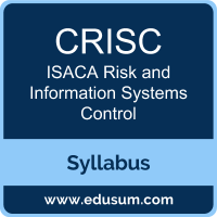 CRISC PDF, CRISC Dumps, CRISC VCE, Risk and Information Systems Control Questions PDF, ISACA Risk and Information Systems Control VCE