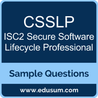 CSSLP Dumps, CSSLP PDF, CSSLP VCE, ISC2 Secure Software Lifecycle Professional VCE