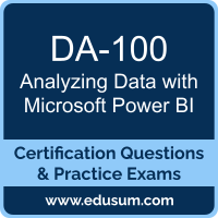 Analyzing Data with Microsoft Power BI Dumps, Analyzing Data with Microsoft Power BI PDF, DA-100 PDF, Analyzing Data with Microsoft Power BI Braindumps, DA-100 Questions PDF, Microsoft DA-100 VCE, Microsoft MCA Data Analyst Dumps