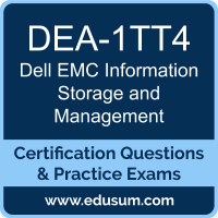Information Storage and Management Dumps, Information Storage and Management PDF, DEA-1TT4 PDF, Information Storage and Management Braindumps, DEA-1TT4 Questions PDF, Dell EMC DEA-1TT4 VCE, Dell EMC DECA-ISM Dumps